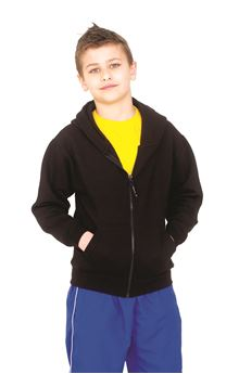 Picture of Childrens Classic Full Zip Hooded Sweatshirt