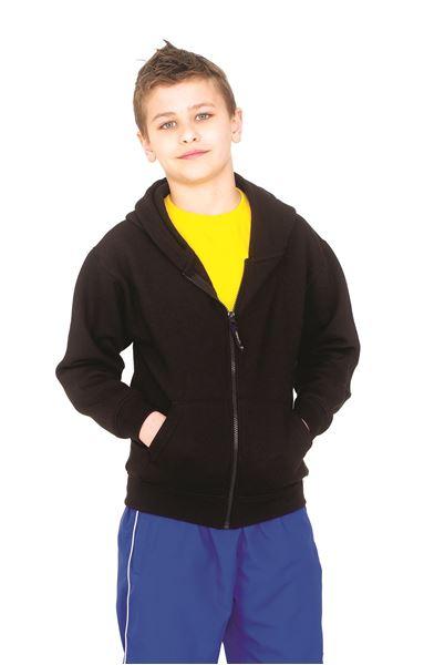 Picture of Childrens Classic Full Zip Hooded Sweatshirt