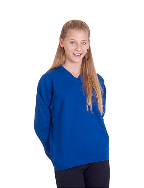 Picture of Childrens V Neck Sweatshirt