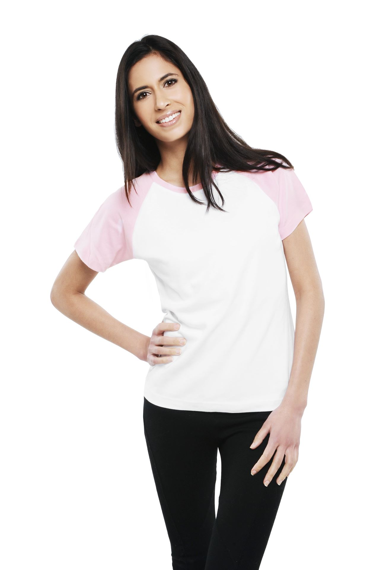 Dress my ladies raglan short sleeve t shirt for Short sleeve shirt for women