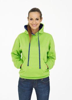Picture of Contrast Hooded Sweatshirt