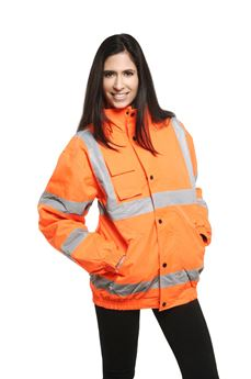 Picture of High Visibility Bomber Jacket