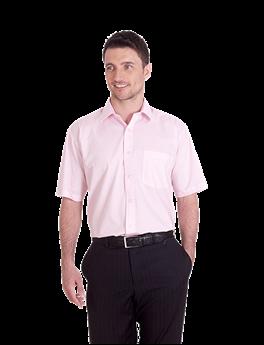 Picture of Mens Poplin Half Sleeve Shirt