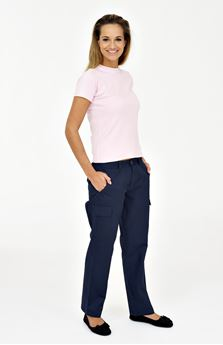 Picture of Ladies Cargo Trousers