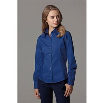 Picture of Women's corporate Oxford blouse long sleeved
