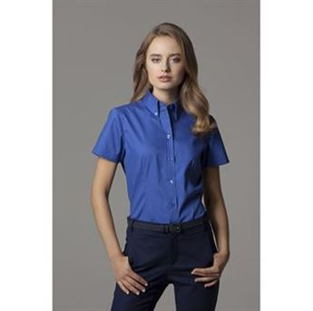 Picture of Women's corporate Oxford blouse short sleeved