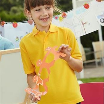 Picture of Kids 65/35 pique polo