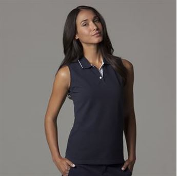 Picture of Women's Gamegear® proactive sleeveless polo