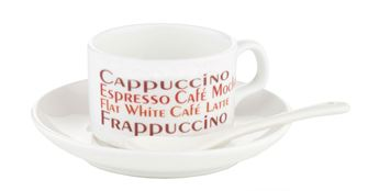 Picture of 4oz Mini Mug for Sublimation c/w Saucer