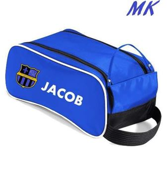 Picture of MK-Solihull Sporting Mini Kickers Royal blue shoe bag