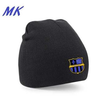 Picture of MK-Solihull Sporting Mini Kickers black beanie hat