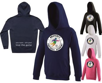 Picture of Draycott Football Academy kids Hoodie (Boys & Girls)