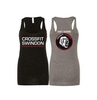 Picture of Crossfit Swindon Triblend racerback tank top