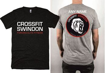 Picture of Crossfit Swindon Triblend short sleeve track tee