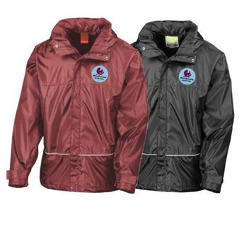 Picture of Woodbourne Sports Club Kids Waterproof jacket