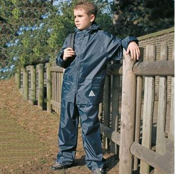 Picture of Kids Waterproof Jacket/Trouser Suit in Carry Bag