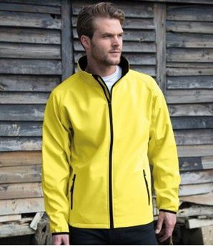 Picture of Result Core Printable Soft Shell Jacket