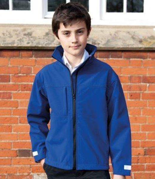 Picture of Junior classic softshell 3-layer jacket