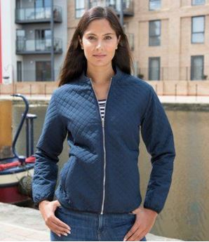Picture of Result Urban Ladies Phantom Soft Shell Bomber Jacket
