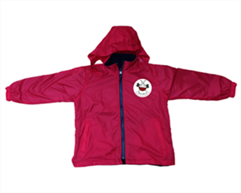 Picture of  Adult Reversible Fleece Jacket with badge