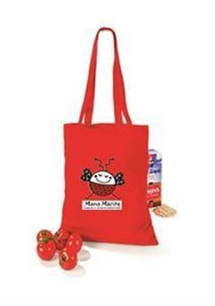 Picture of Cotton bag with logo (10 litres)