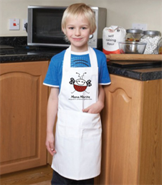 Picture of Children apron with logo
