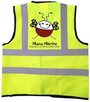 Picture of Childrens high visibility safety vest
