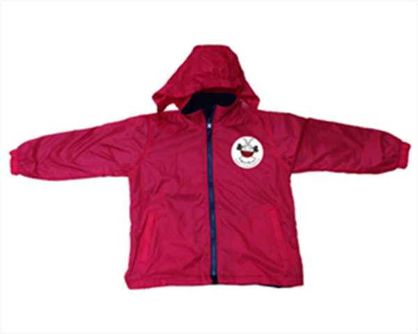 Picture of Kids Reversible Fleece Jacket with badge