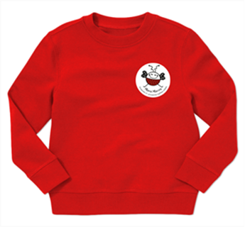 Picture of Kids sweatshirt with badge