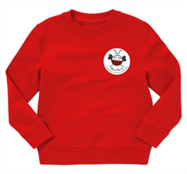 Picture of Kids sweatshirt with badge